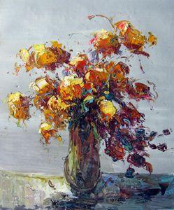 Vase flower #327