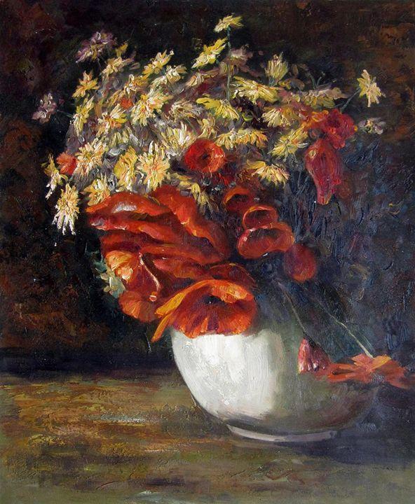 Vase flower #329 - Richard Zheng