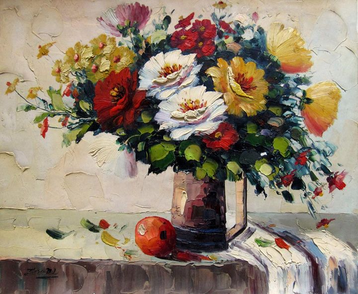Vase flower #331 - Richard Zheng