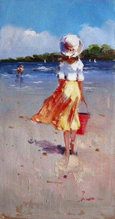 Play on the beach #318 - Richard Zheng