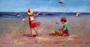 Play on the beach #321
