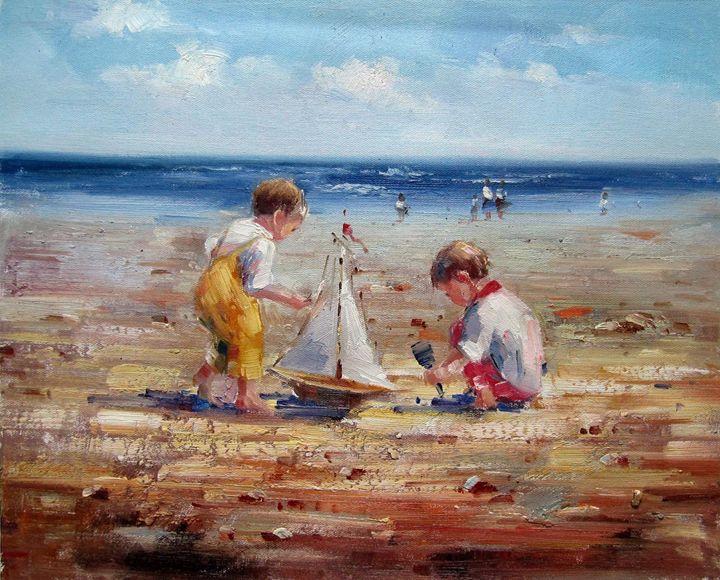 Play on the beach #022 - Richard Zheng