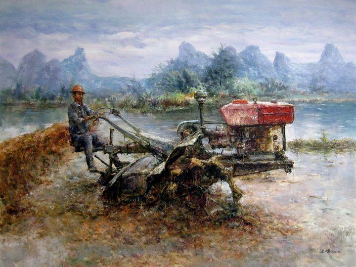 Oil tractor #001 - Richard Zheng