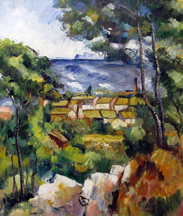 repro. Paul Cezanne #030 - Richard Zheng