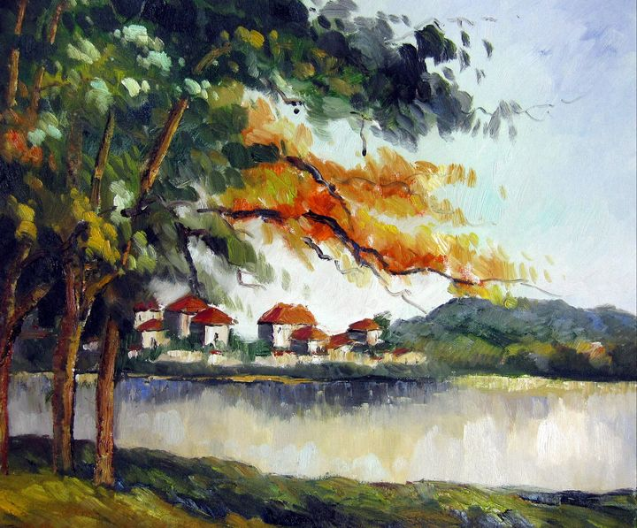 repro. Paul Cezanne #009 - Richard Zheng
