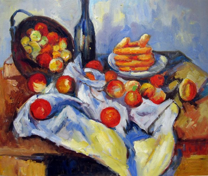 repro. Paul Cezanne #035 - Richard Zheng