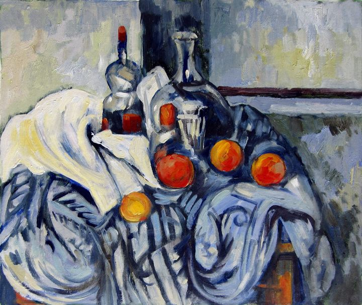 repro. Paul Cezanne #039 - Richard Zheng