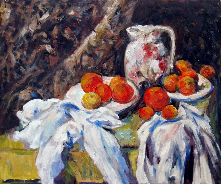 repro. Paul Cezanne #043 - Richard Zheng