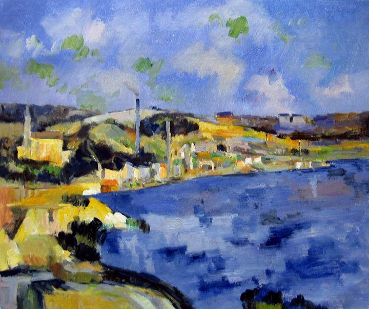 repro. Paul Cezanne #051 - Richard Zheng