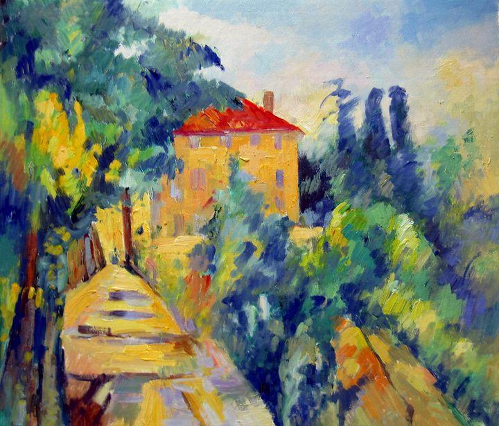 repro. Paul Cezanne #054 - Richard Zheng