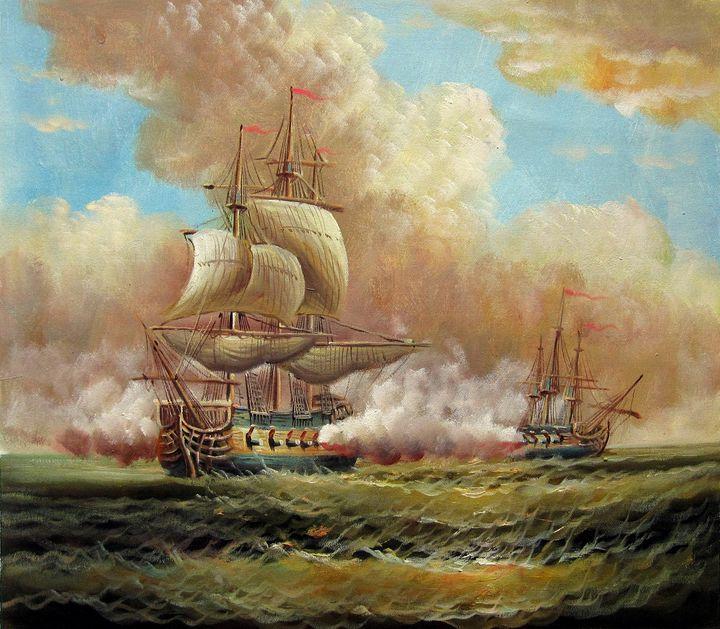 Naval battle #005 - Richard Zheng