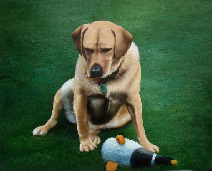 Pet portrait - dog - Richard Zheng