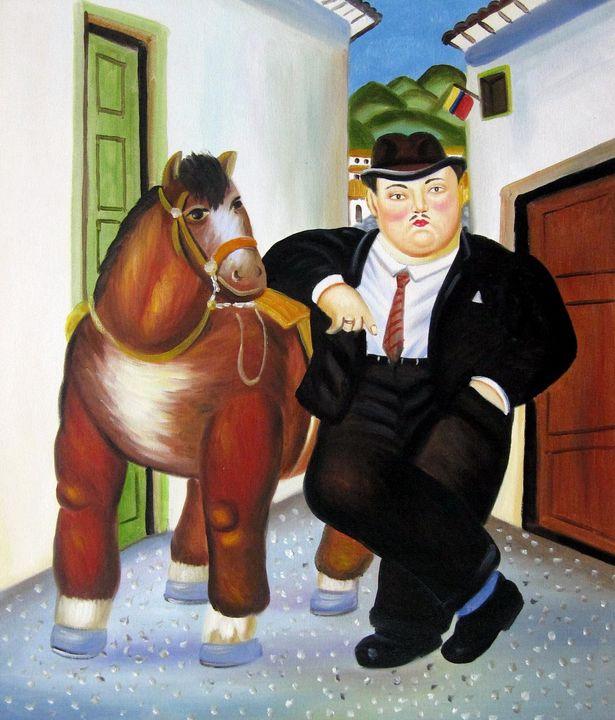 repro. Fernando Botero #156 - Richard Zheng