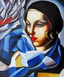 repro. Tamara De Lempicka