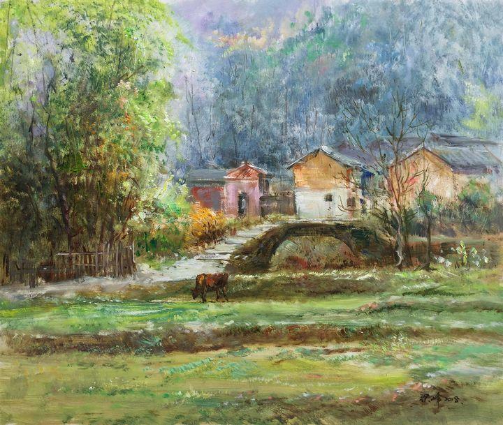Mountain village #2 - Richard Zheng
