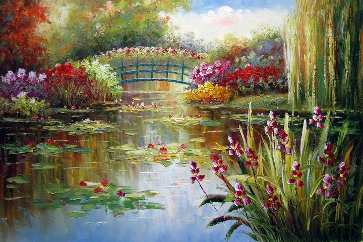 Waterlily garden #107 - Richard Zheng