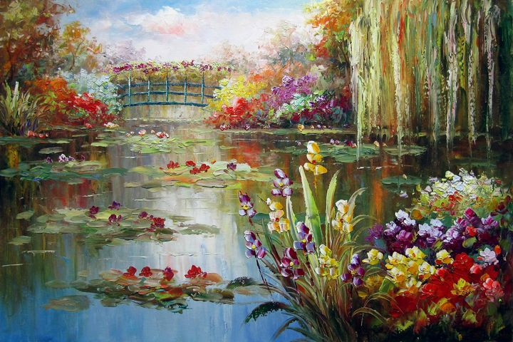 Waterlily garden #109 - Richard Zheng