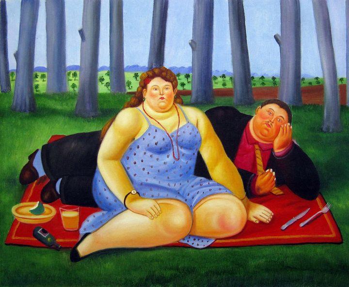 repro. Fernando Botero #180 - Richard Zheng