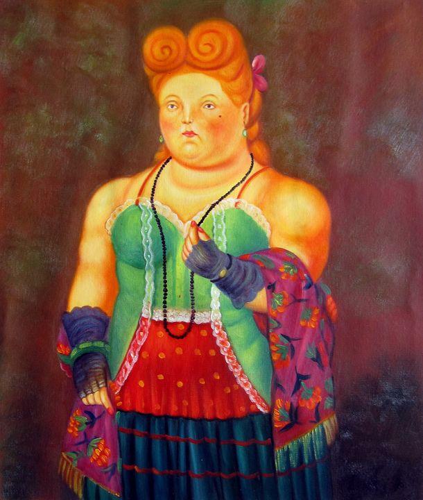 repro. Fernando Botero #176 - Richard Zheng