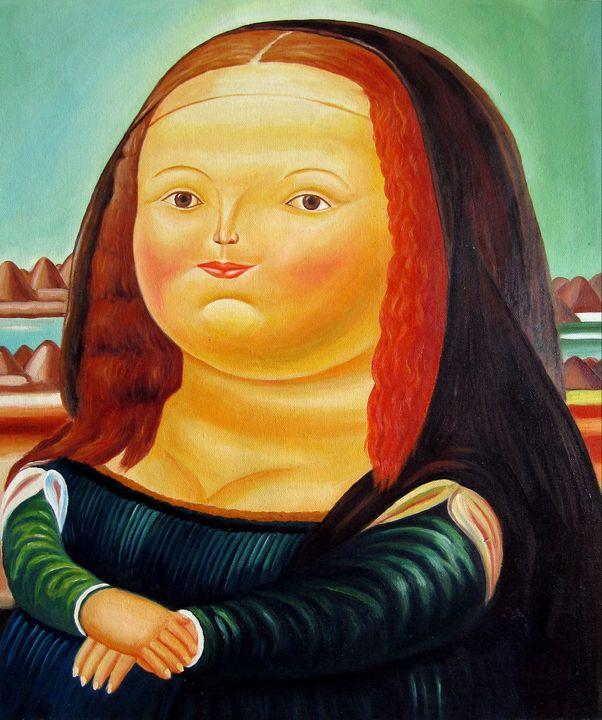 repro. Fernando Botero #177 - Richard Zheng
