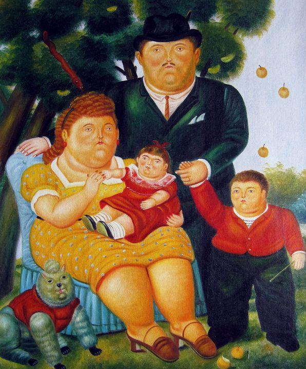 repro. Fernando Botero #179 - Richard Zheng