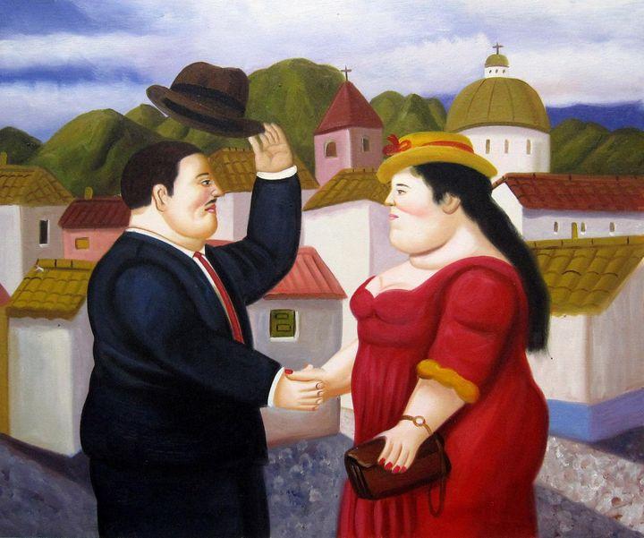 repro. Fernando Botero #175 - Richard Zheng