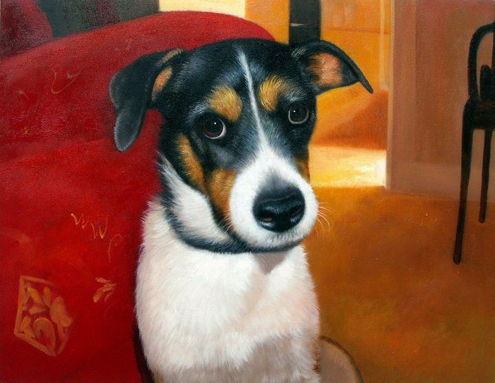 Pet portrait - dog #022 - Richard Zheng