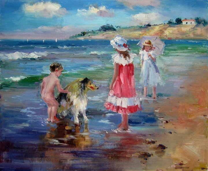 Play on the beach #245 - Richard Zheng
