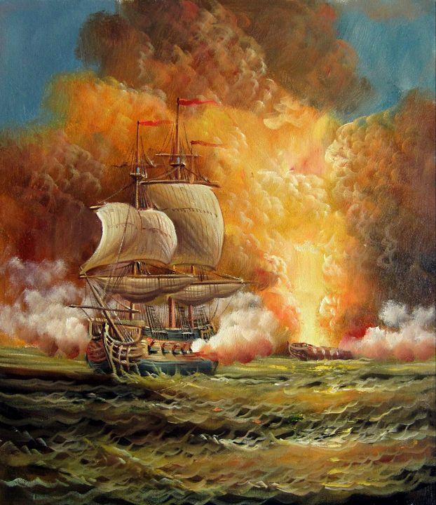 Naval battle #007 - Richard Zheng