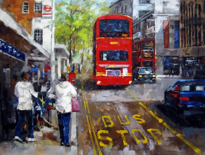 Street bus #002 - Richard Zheng