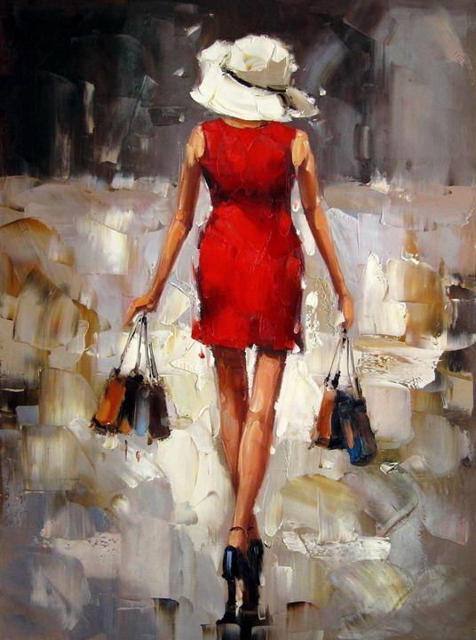 Shopping girl #104 - Richard Zheng