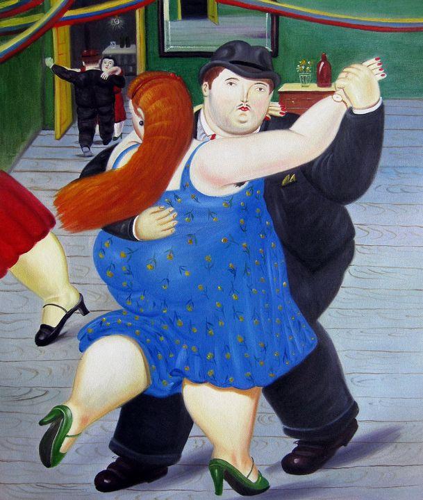 repro. Fernando Botero #171 - Richard Zheng