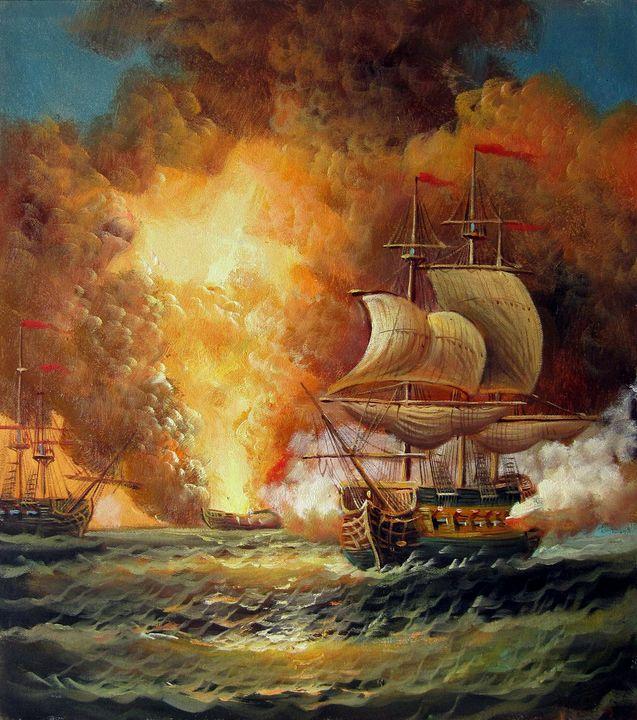Naval battle #009 - Richard Zheng