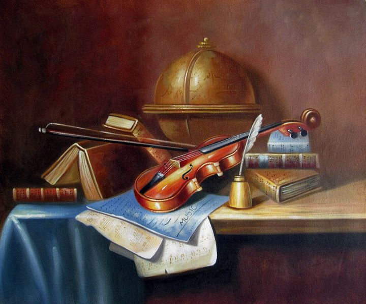 Still life Violin #004 - Richard Zheng
