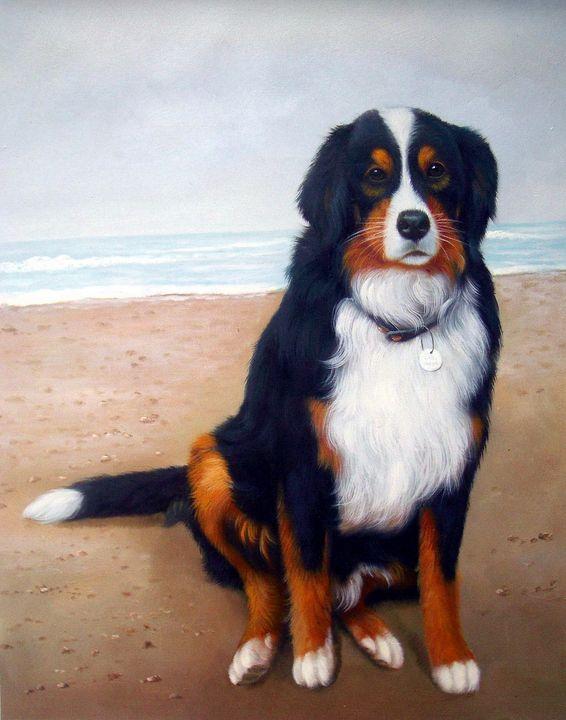 Pet portrait - dog #028 - Richard Zheng