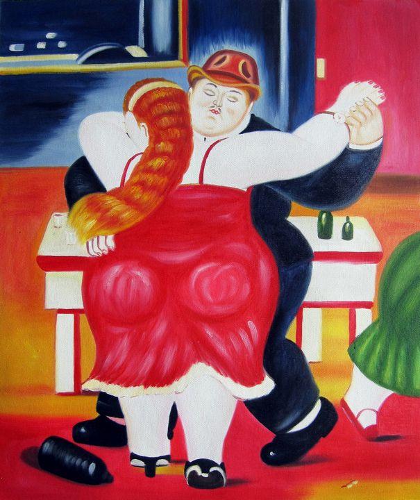 repro. Fernando Botero #169 - Richard Zheng