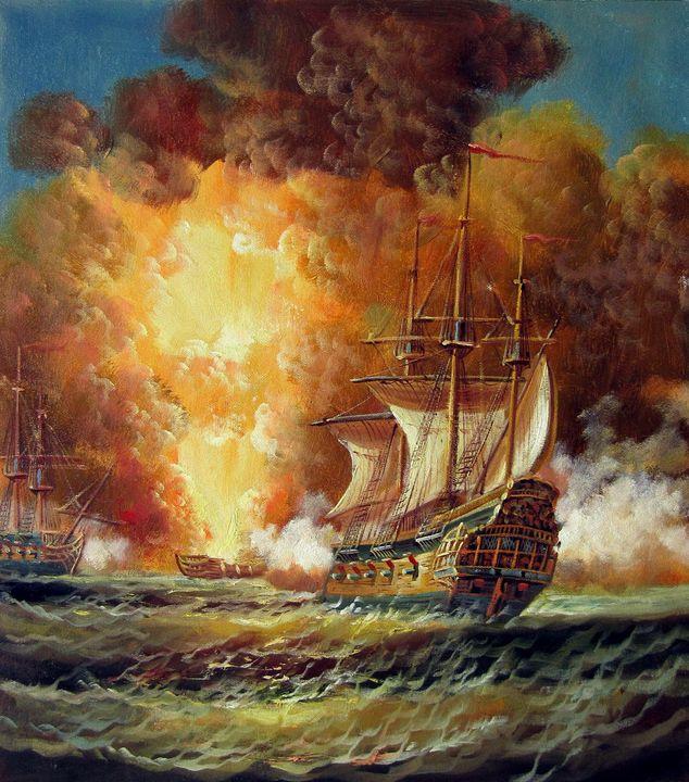 Naval battle #011 - Richard Zheng