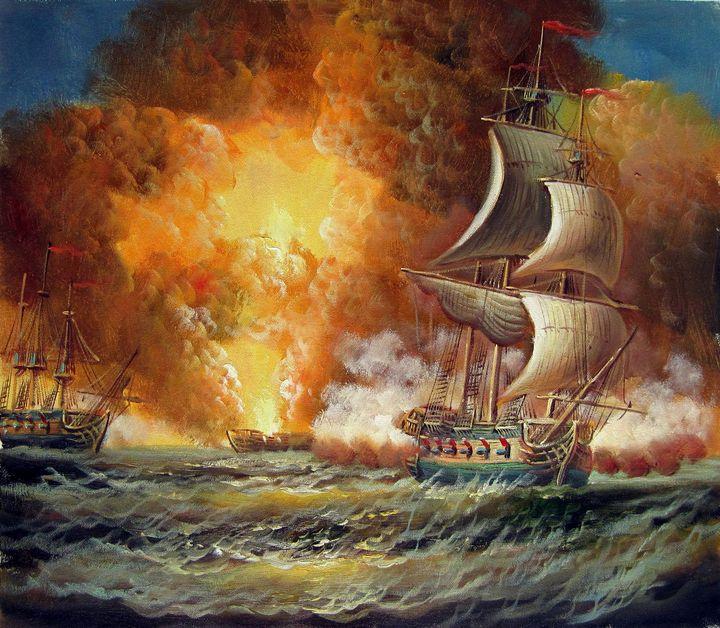 Naval battle #012 - Richard Zheng