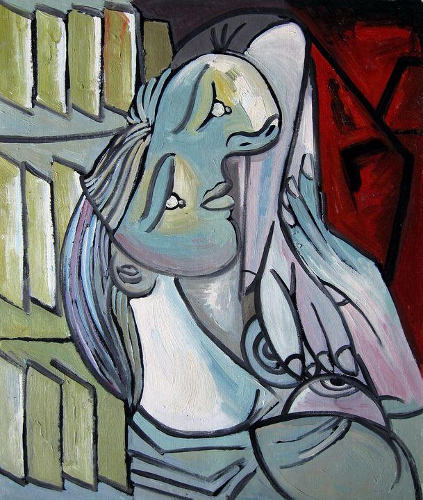 repro. Pablo Picasso #006 - Richard Zheng