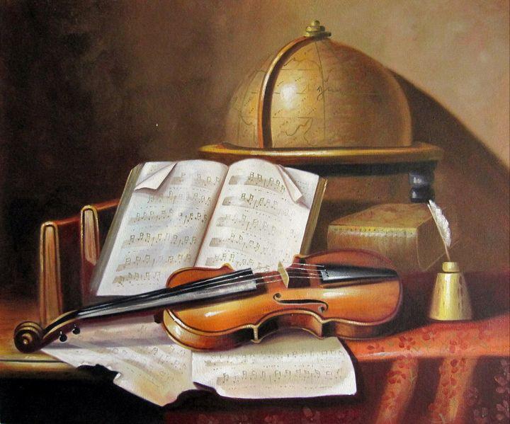Still life Violin #003 - Richard Zheng