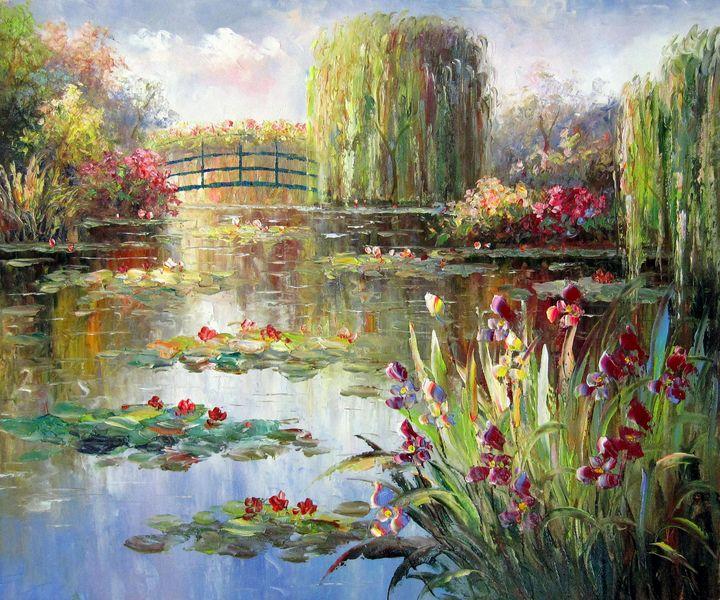 Waterlily garden #002 - Richard Zheng