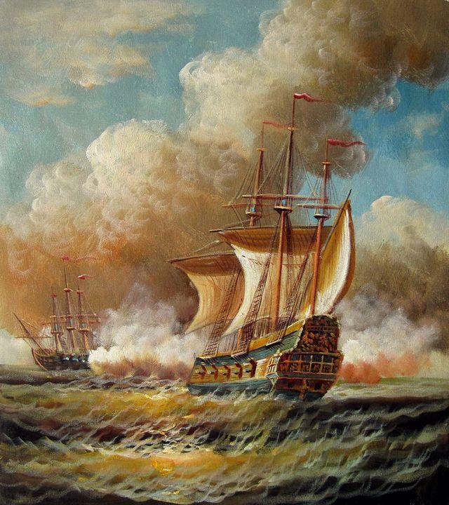 Naval battle #013 - Richard Zheng