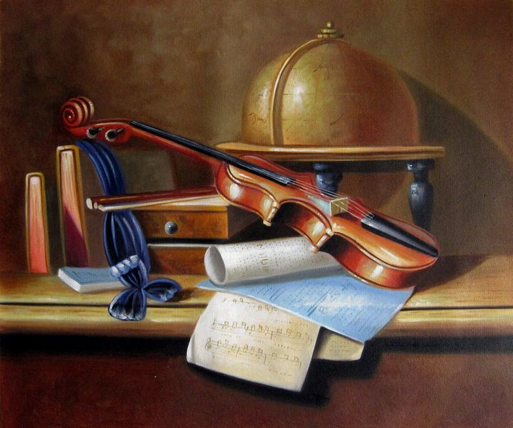 Still life Violin #005 - Richard Zheng
