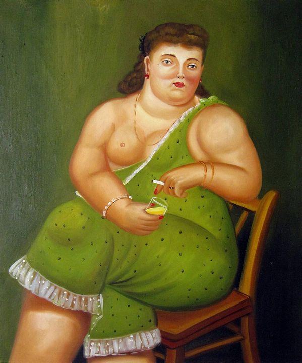 repro. Fernando Botero #166 - Richard Zheng