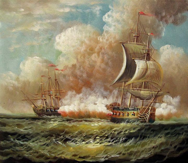 Naval battle #014 - Richard Zheng