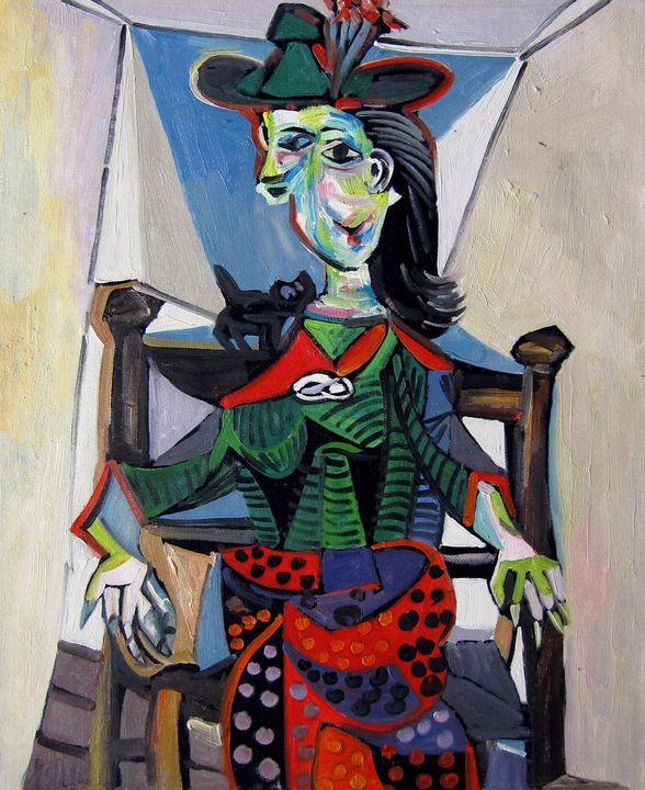 repro. Pablo Picasso #008 - Richard Zheng