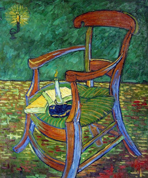 repro. Vencent Van Gogh #102 - Richard Zheng