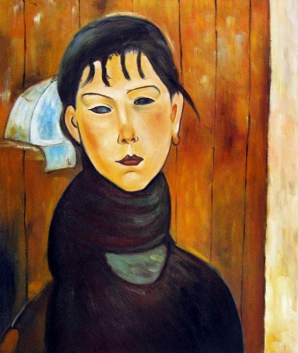repro. Amedeo Modigliani #015 - Richard Zheng