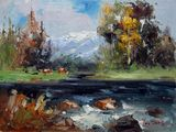 Landscape - by the river