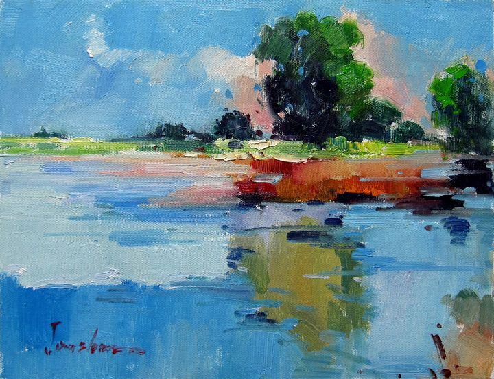 By the river #108 - Richard Zheng